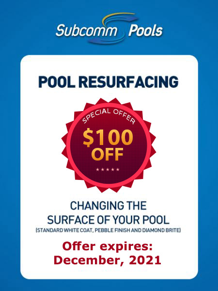 Pool Resurfacing Promotion