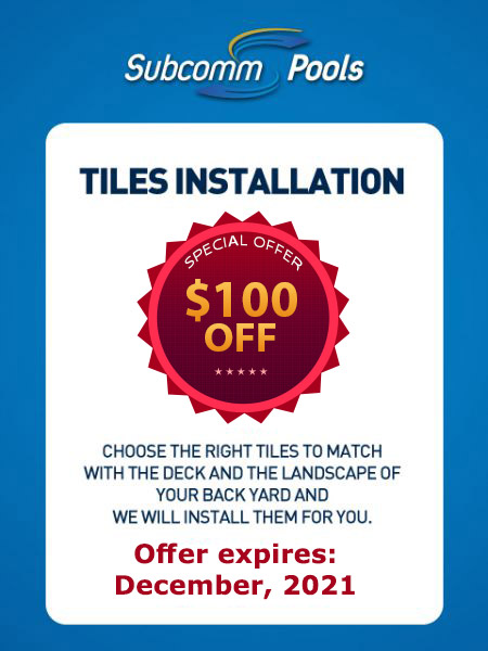 Tiles Installation Coupon