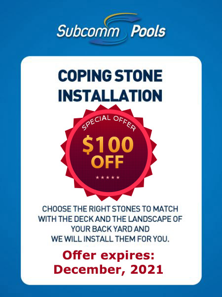Coping Stone Installation Coupon