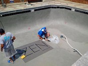 Totally renovated roof top swimming pool