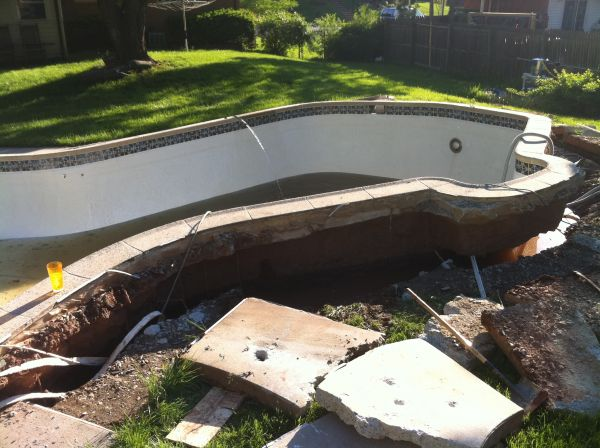 Draining a swimming pool may be a bad idea - Draining a swimming pool may be a bad idea ...